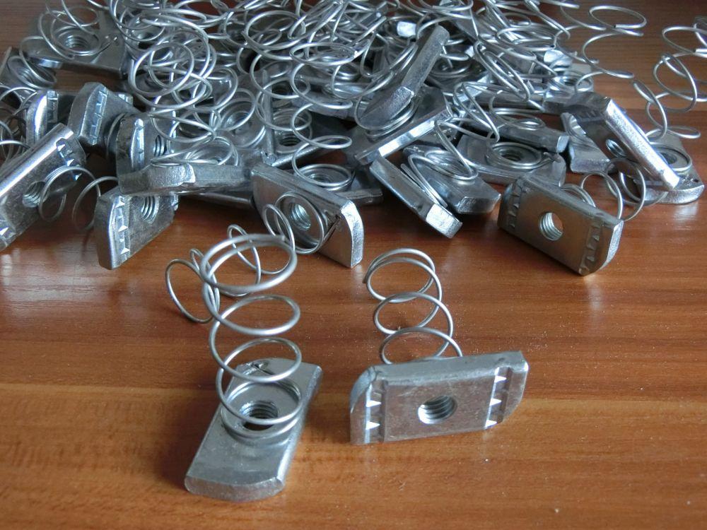 带弹簧插排内部接线图解